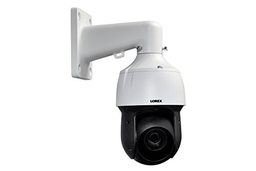 Lorex LNZ44P12B 2K HD Outoor PTZ IP Camera with 12× Optical Zoom, Color Night Vision, Metal ()