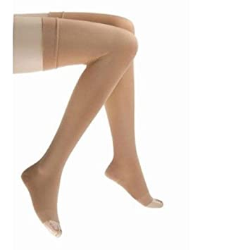 8a2beeaef Jobst Medical Legwear Stockings Relief Compression Thigh High 20-30 mm Hg  Open Toe