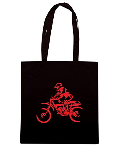 Borsa Speed DIE Shopper Nera 39892 BIKE FUN1218 DIRT Shirt CUT 56gq6wA