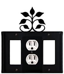 Egog-109 Leaf Fan Gfi Outlet Gfi Electric Cover