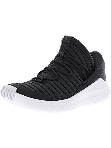 Nike Men's Jordan Flight Luxe Anthracite/Black-White Ankle-High Fabric Basketball Shoe - 10.5M