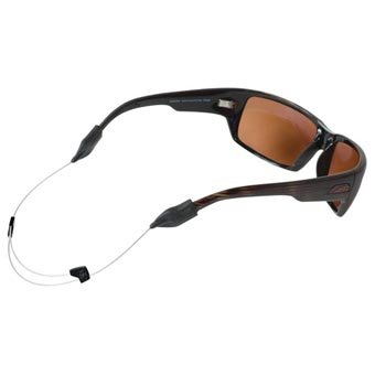 Chums Orbiter Flexible Lightweight Wire Adjustable Eyeglass and Sunglass Retainer / Holder, Black (2 - Sunglass Holder Wire