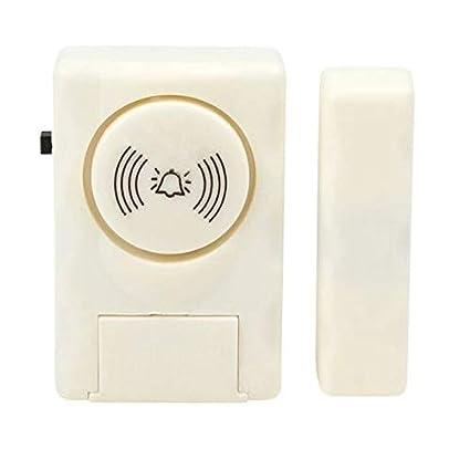 PagKis Wireless Door Window Security Burglar Sensor Alarm with Magnetic Sensor - Anti Theft System for Home Office - 105 Decibel High Alarm