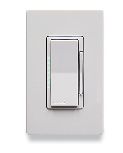 Leviton DL1KD-1BZ Lumina RF Full Phase 1000W Dimmer