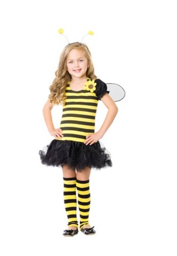 Honey Bee Child Costume - Medium - Honey Bee Child Costumes