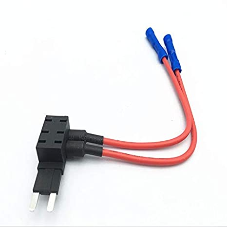 Amazon.com: HERCHR Add 2 Circuit Dual Fuse tap, Inline Wire ... on
