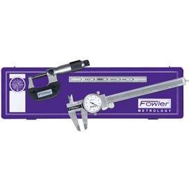 - Fowler 52-095-007 Three Piece Toolmakers Universal Measuring Set