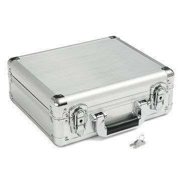 Maleta de aluminio resistente al agua con carcasa rígida para dron ...
