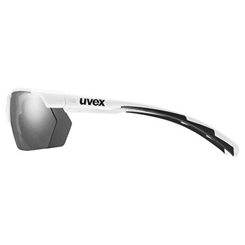 Uvex Sportstyle 114 Lunettes de soleil Rouge/Blanc gtg9PFr