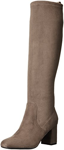 Guess Women's Habor Riding Boot, Grey, 10 M - Guess Grey Boots
