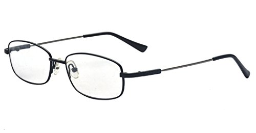 Kelens Retro Rectangular Full Frame Clear Lens Business Prescription - Fake Glasses Stylish
