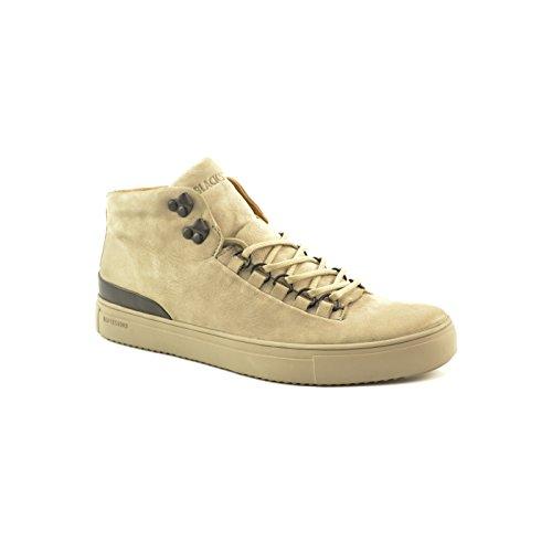 Gris Dove dove Uomo Om55 wild Collo Alto Sneaker Blackstone A wn4ZH0zAn
