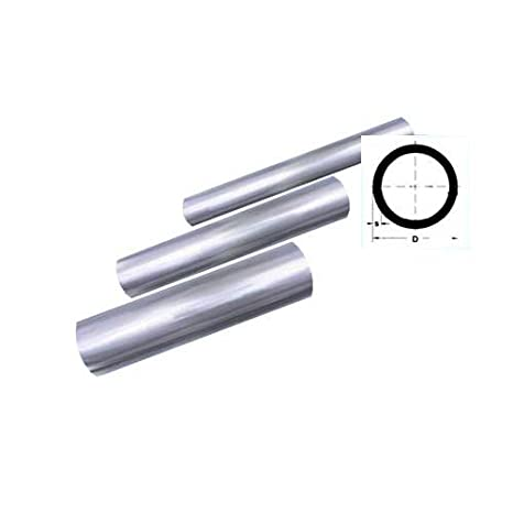 Rohr 38 x 2 mm Konstruktionsrohr geschliffen V2A 1 m 1000 mm 100 cm