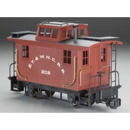 "Bachmann Industries Bobber Caboose - Denver & Rio Grande - Large ""G"" Scale Rolling Stock from Bachmann Trains"