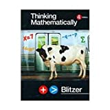 Thinking Mathematically, Robert Blitzer, 0131347403