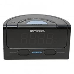 Emerson Research CKS1850 Alarm Clock AM/FM Radio w/ Auto Clock Set System