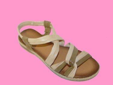 Sandales Femme Beige Cuir Chaussures Et Vert Pointure 40Ayoka wOPkn08