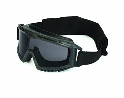 UVEX by Honeywell S0751D XMF Tactical Goggle, Black