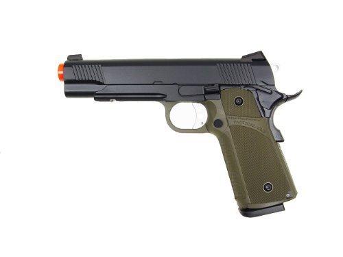 kjw model-615g kp05-s gas/co2 blowback full metal/od green(Airsoft Gun)