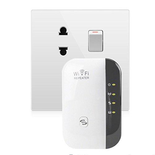 NoyoKere Mini Router WiFi Repeater IEEE 802.11 b / g / n 300Mbps WLAN Repeater Wifi Verstärker Router Signalverstärker