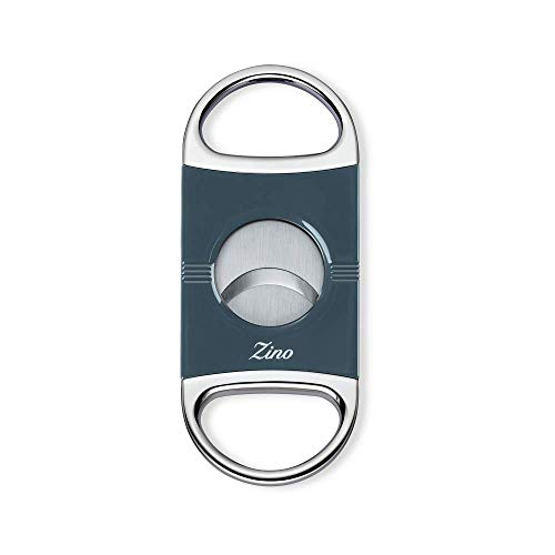 Zino Z2 Double Blade Cigar Cutter (Blue)