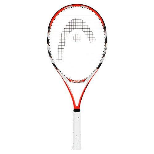 HEAD MicroGel Radical OS Tennis Racquet, Strung, 4 1/4 Inch - Racquets Head