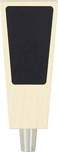 6.5'' Solid Maple Tapered Chalkboard Tap Handle