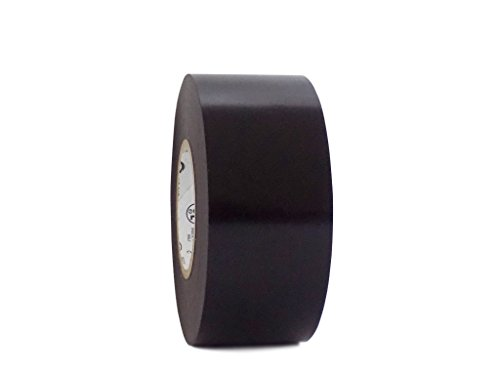 - T.R.U. EL7566-AW Professional Grade Rubber Black PVC Electrical Tape, rated up to 600 volts and 176 F - UL/CSA/CE Listed Synthetic: 1.5 in. x 66 Ft. (8 Mil)