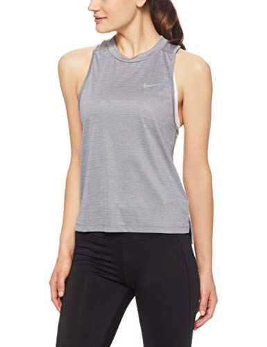 NIKE Women's Dry Miler Running Tank Top (M, ()