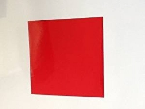 Print247 10 X Red Gloss 150mm x 150mm Tile Transfer Stickers pack of 10 easy to apply and look great