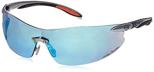 Harley-Davidson HD801 Safety Glasses with Silver Tempels Fra