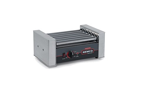 NEMCO ROLLER GRILL, 10 HOT DOGS, GRIPSIT Model 8010SX by Nemco