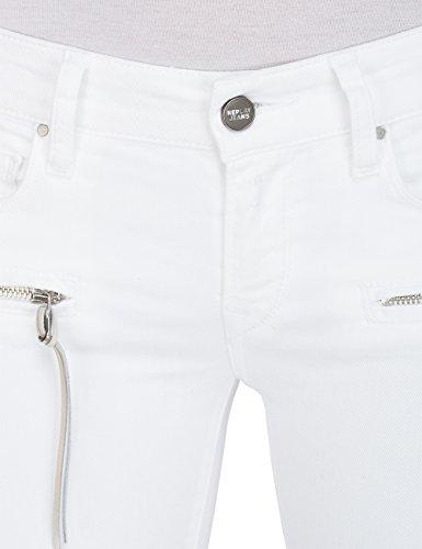 1 Brigidot White Jean Blanc Skinny Replay Femme YdAqwZZ