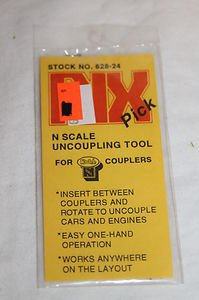 Rix Pick 628-24 N Scale Uncoupling Tool for Kadee Couplers for sale  Delivered anywhere in USA
