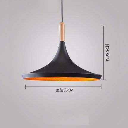 FLYRCX Loft retro Industrial wind Kronleuchter Cafés Restaurants schmiedeeiserne Lampen, L