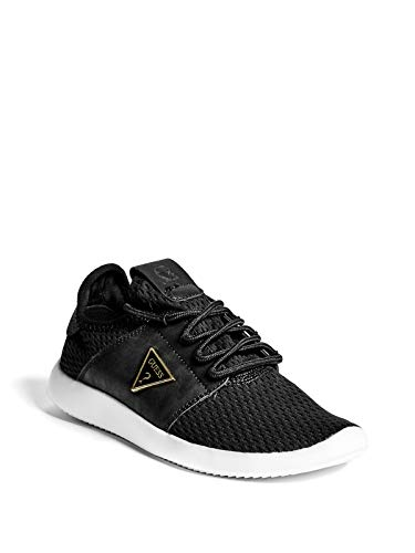 GUESS Factory Womens Betty Perforated Knit Sneakers