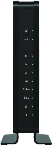 NETGEAR Certified Refurbished C3700-100NAR C3700-NAR DOCSIS 3.0 WiFi Cable Modem Router with N600 8x4 Download...