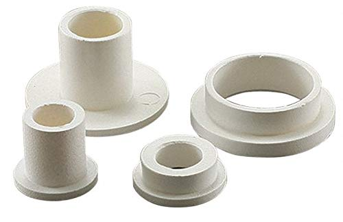 0.060'' Nylon 6/6 Shoulder Washer with Natural Finish, Black - pack of 5 by Unknown (Image #1)