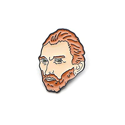 Amazon com : River Land Van Gogh Metal Enamel Pins and Brooches for