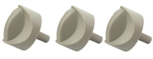87327 Weber Gas Grill 3 Pack of Main Burner Knobs Spirit E-310 E-320 (Weber Grill Knobs compare prices)