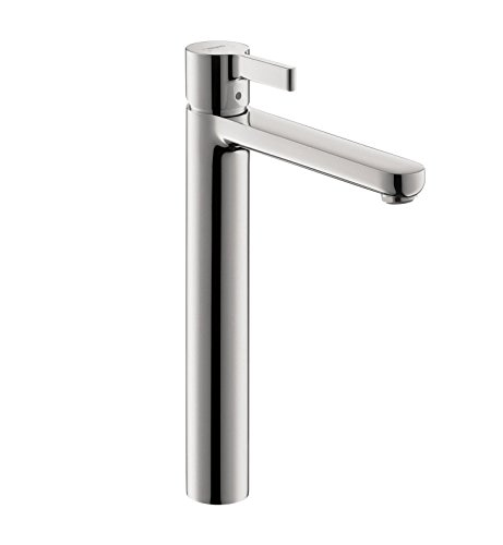 Hansgrohe 31020821 Metris S Single Hole Tall Faucet, Brushed Nickel