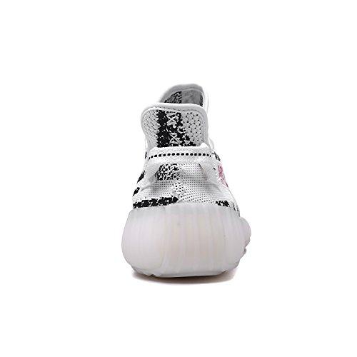 Ginnastica da 350 Uomo Zebra Donna Fitness Leggero Traspirante Landelet Unisex Scarpe Boost V2 Sneakers 5Iwxp4EqB
