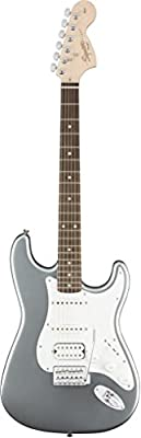 Squier by Fender Affinity Stratocaster Electric Guitar HSS - Lake Placid Blue - Rosewood Fingerboard from Squier by Fender