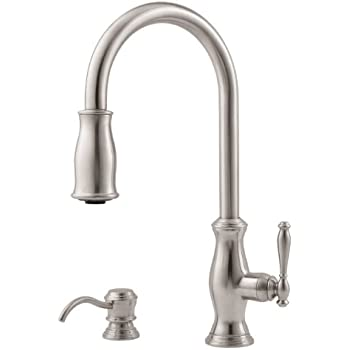 Pfister Wheaton 1-Handle Pull-Down Kitchen Faucet with