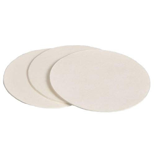 Circular Filter Paper United Scientific Supplies FPR240 8 Packs of 100 pcs