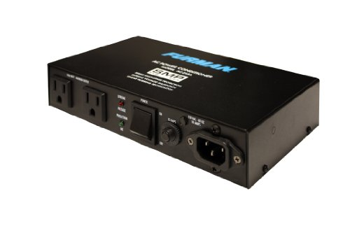Furman AC-215A Compact Power Conditioner with Auto-Resetting Voltage Protection - Black ()