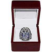 NEW YORK GIANTS (Eli Manning) 2011 SUPER BOWL XLVI WORLD CHAMPIONS (Vs. Patriots) Est. 1925 Rare Collectible High-Quality Replica… photo