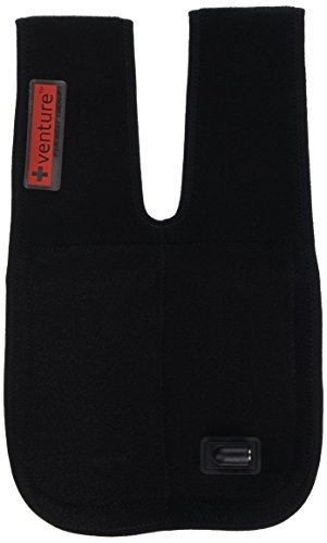Venture Heated Clothing KB-1260 REG Black Regular 12V Heated Elbow Therapy Wrap with Temperature Controller and 12V - Heated Therapy Venture