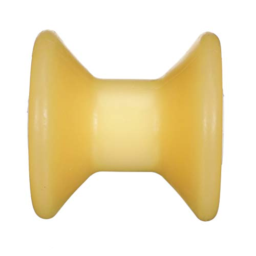 Seachoice 56560 Bow Roller - 3 Inch Length - 1/2 Inch ID - Gold - 5 Year Warranty