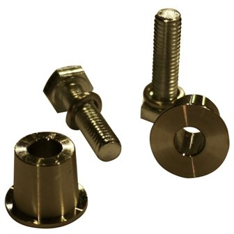 VLYNX VCP8 1 Pair of 8mm Stainless Steel Charging posts for batteries with 8mm screw in terminals